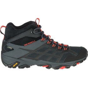 Merrell Moab FST 2 Mid GTX Shoes Men black/granite